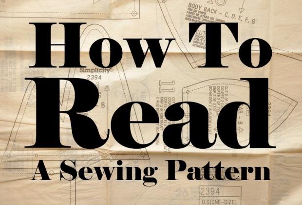 Kết quả hình ảnh cho How to Read a Sewing Pattern
