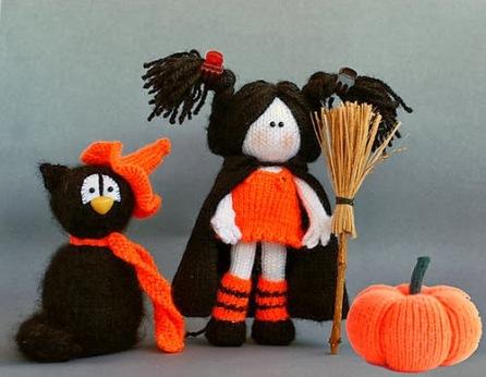 Kết quả hình ảnh cho TOPSY TURVY WEREWOLF knitting halloween
