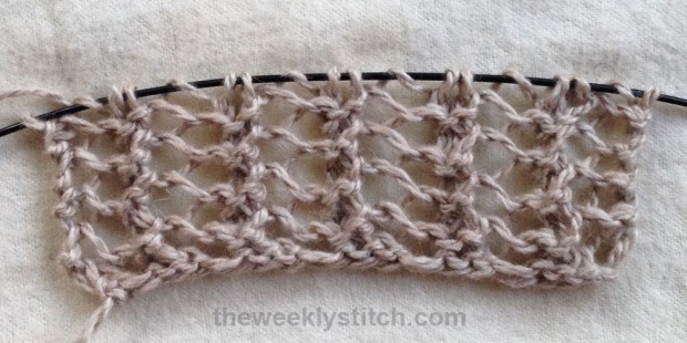 Kết quả hình ảnh cho Herringbone Lace Rib Stitch knitting