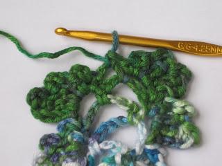 Kết quả hình ảnh cho Picot Single Crochet