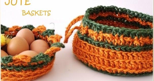 Kết quả hình ảnh cho Baskets of Pumpkins crochet