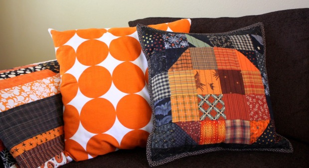 Kết quả hình ảnh cho Patchwork Pumpkin Block halloween sewing