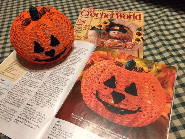 Kết quả hình ảnh cho 5 - Two Sizes Of Pumpkins crochet